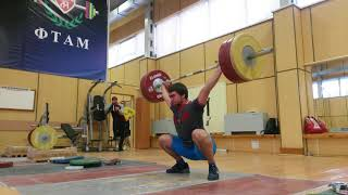Сильнейшие тяжелоатлеты России на сборах
