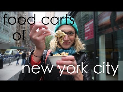 Food carts of New York City: A tour of the best in Midtown Manhattan