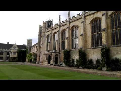 Inside Trinity College, Cambridge