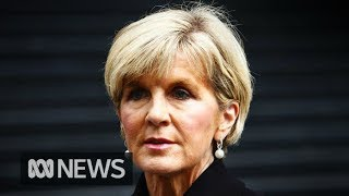 Julie Bishop resigns as minister for foreign affairs, remains MP