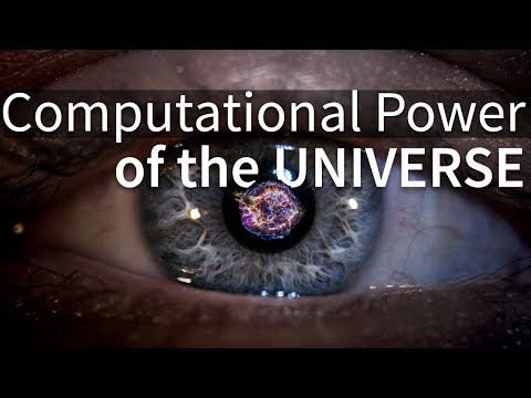 What Is The Computational Power of the Universe?