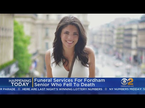 Fordham University Student Funeral Today