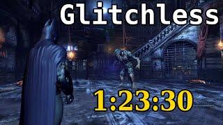 Batman: Arkham City Speedrun (Glitchless) in 1:23:30