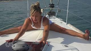 Releasing your groin | sea yoga | sailing yoga| sea tv | yoga workout