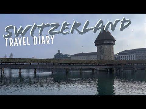 ZURICH & LUCERNE TRAVEL DIARY // STUDY ABROAD WEEKEND IN SWITZERLAND