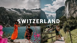 MOST BEAUTIFUL PLACES IN SWITZERLAND🇨🇭∙ Europe Roadtrip ∙ #Vlog 116