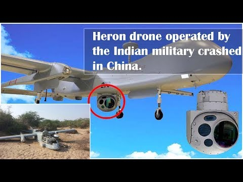 ISRAELI-MADE DRONE, OPERATED BY INDIA, CRASHES IN CHINA