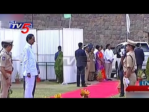 70th Independence Day Celebrations #1 | Golconda | Telangana | TV5 News