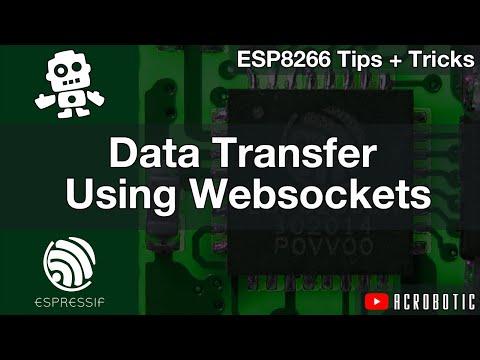 ESP8266 Web Server And Websockets Using Arduino IDE (Mac OSX And Windows)   Vs. AJAX And HTTP