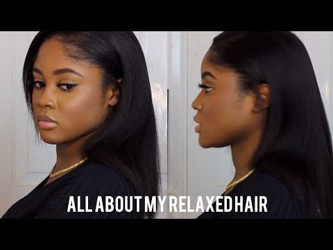 Q&A ALL ABOUT MY RELAXED HAIR😜| KAISERCOBY