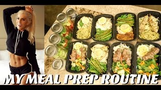HOW I MEAL PREP | Recipes | Girly Gains