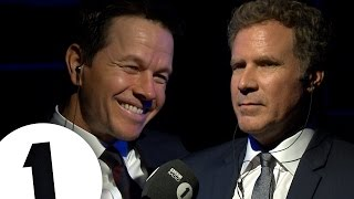 Will Ferrell & Mark Wahlberg Insult Each Other | CONTAINS STRONG LANGUAGE! thumbnail