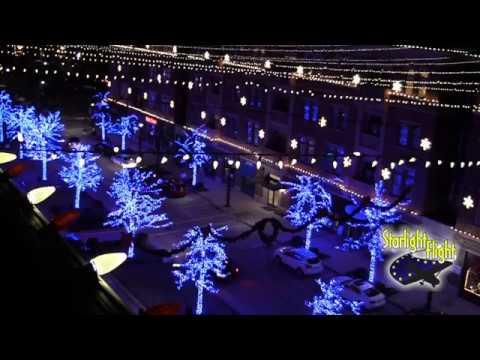#friscotx #friscosquare - Frisco Square Christmas Lights Christmas Light Tour Frisco TX