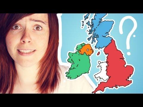 La diferencia entre El Reino Unido, Gran Bretaña, Inglaterra ¡y mucho más!
