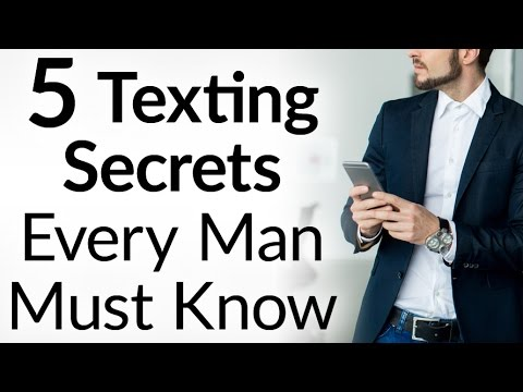 5 Texting Secrets Every Man Needs To Know | How Instant Messaging Increases Intimacy?