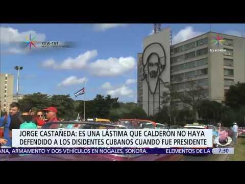 Cuba y Felipe Calderón, el análisis de Jorge Castañeda - Política - Despierta con Loret