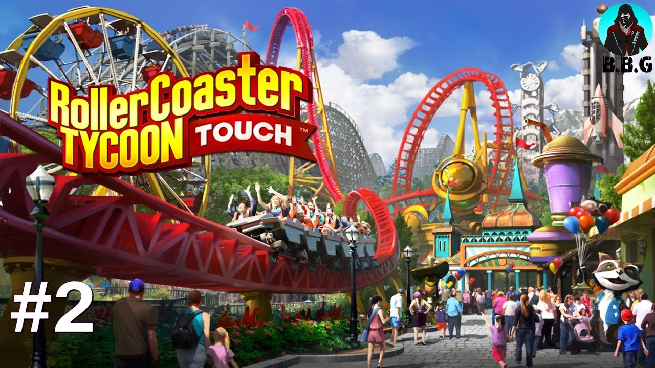 RollerCoaster Tycoon Touch - Level 9 iOS / Android Gameplay Full HD