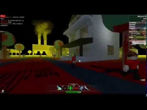 ROBLOX GAMING~Hacked Server on Work At a Pizza Place