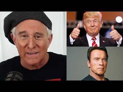 ROGER STONE BLOCKBUSTER INTERVIEW! TRUMP, ARNOLD & More