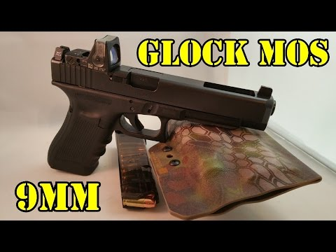 Glock 34 Mos 9mm Trijicon Rmr Review Are Red Dot Sights On Pistols