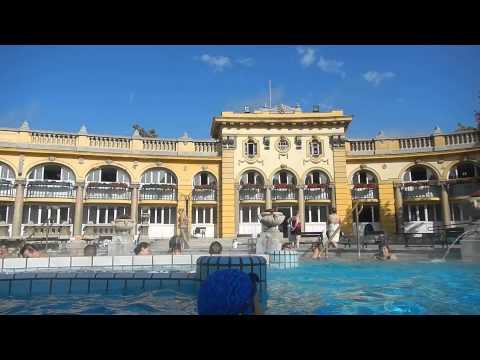 Tour of Széchenyi Thermal Bath and Swimming Pool in Budapest, Hungary