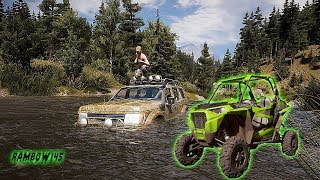 Far cry 5  Jeep off roading gone wrong