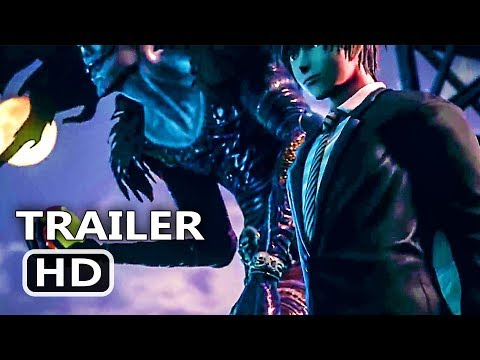 PS4 - Jump Force: Yagami Light & Ryuk Trailer (Death Note, 2018)