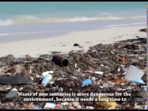 Waste and Art - ნარჩენები და ხელოვნება - 'Ecovision' (With English subtitles)
