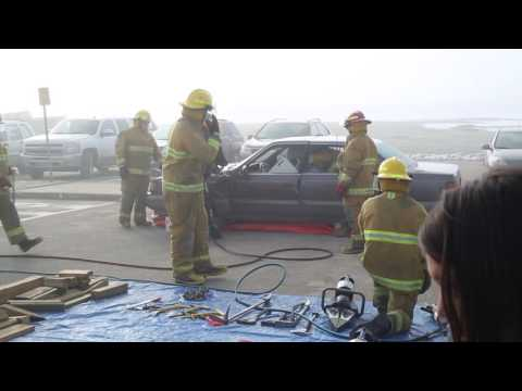 Muskoday Fire Department Mock Accident