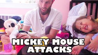 WHEN MICKEY MOUSE ATTACKS! (8.19.15 - DAY 611) DAILY VLOG
