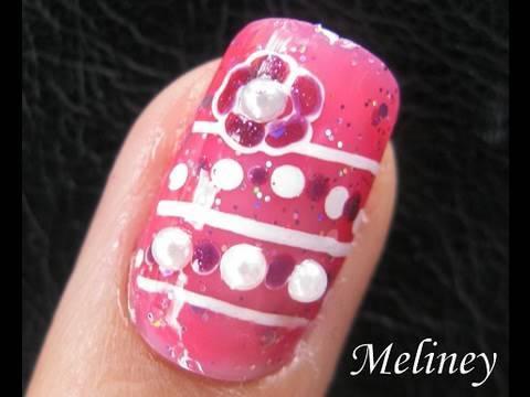 konad nail art stamping tutorial