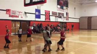 Youth Basketball Coach Freaks Out Over Ref's Call