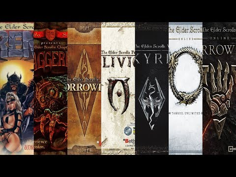 The Evolution of The Elder Scrolls (1994-2019)