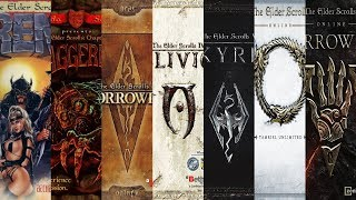 The Evolution of Tнe Elder Scrolls (1994-2019)