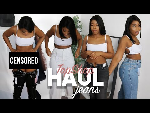 TOPSHOP JEANS HAUL... WHERE DID I GO WRONG! | TRY ON | DENIM 2020