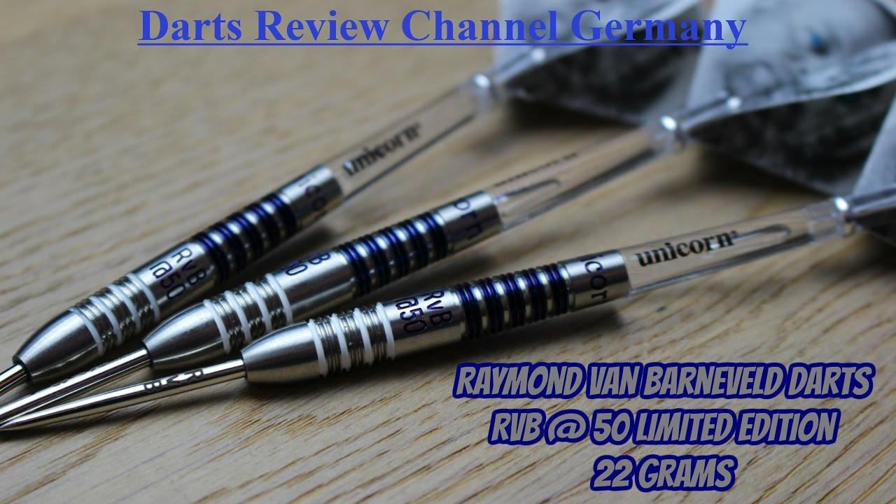 Darts Review Raymond van Barneveld (RVB@50 Limited Edition ...