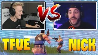 Tfue se fait tuer par Nickmercs ' Duos De Tfue avec Poach (fr) Fortnite Battle Royal Gameplay