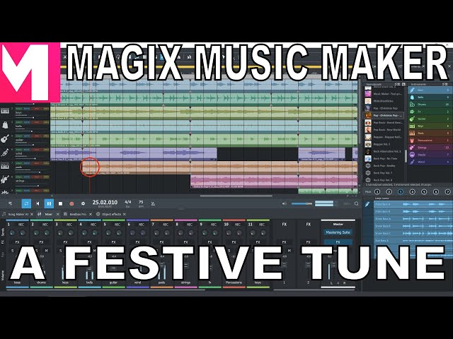 Magix Music Maker - A Festive Tune
