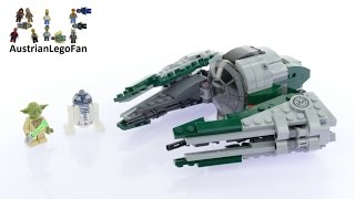 Lego Star Wars 75168 Yoda´s Jedi Starfighter™ - Lego Speed Build Review