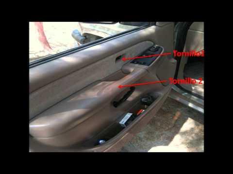 Chevrolet 2003 Retirar Protector De La Puerta Youtube