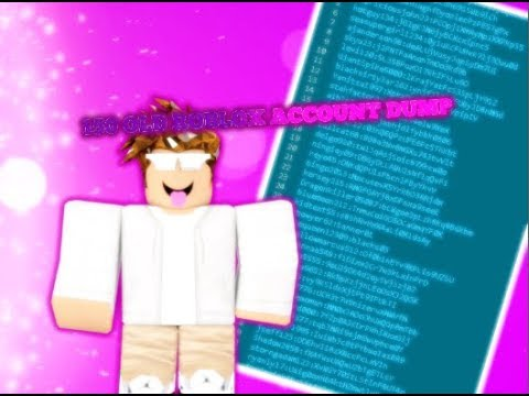 old roblox account dump august 2018 tagged videos on VideoHolder