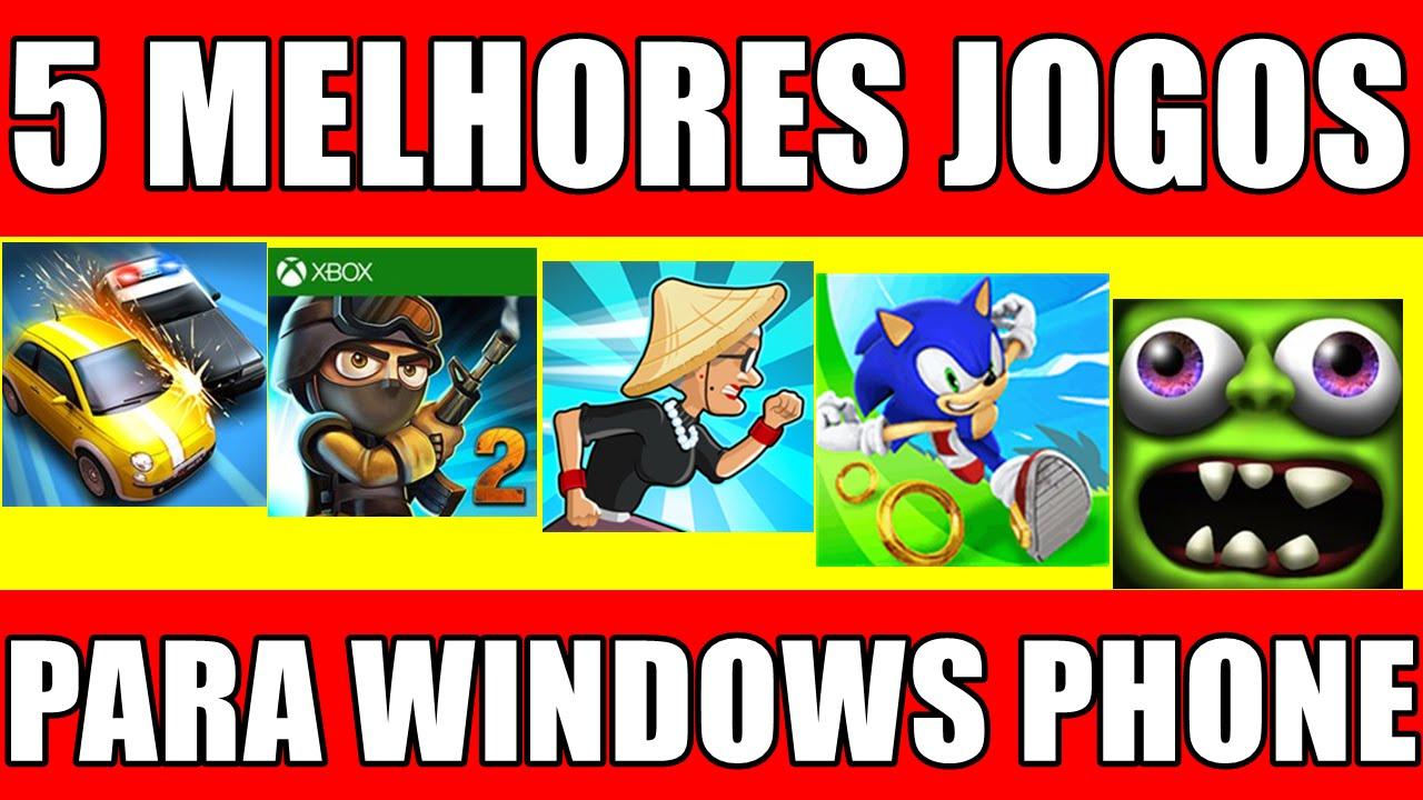 Os melhores jogos para windows phone