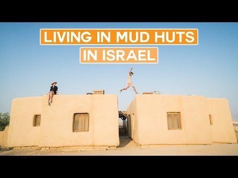Living In Mud Huts In The Israel Desert