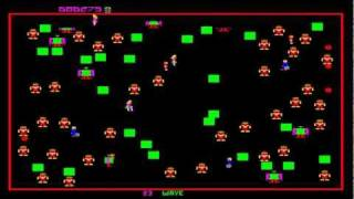 MAME World Record: Robotron [Solid Blue Label] TGTS 813,500