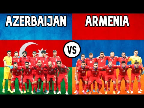 Azerbaijan Vs Armenia Football National Teams 2020