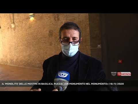 IL 'MONOLITO' DELLE MOSTRE IN BASILICA, RUCCO: «UN MONUMENTO NEL MONUMENTO» | 19/11/2020