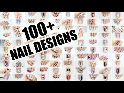 100+ NAIL ART DESIGNS