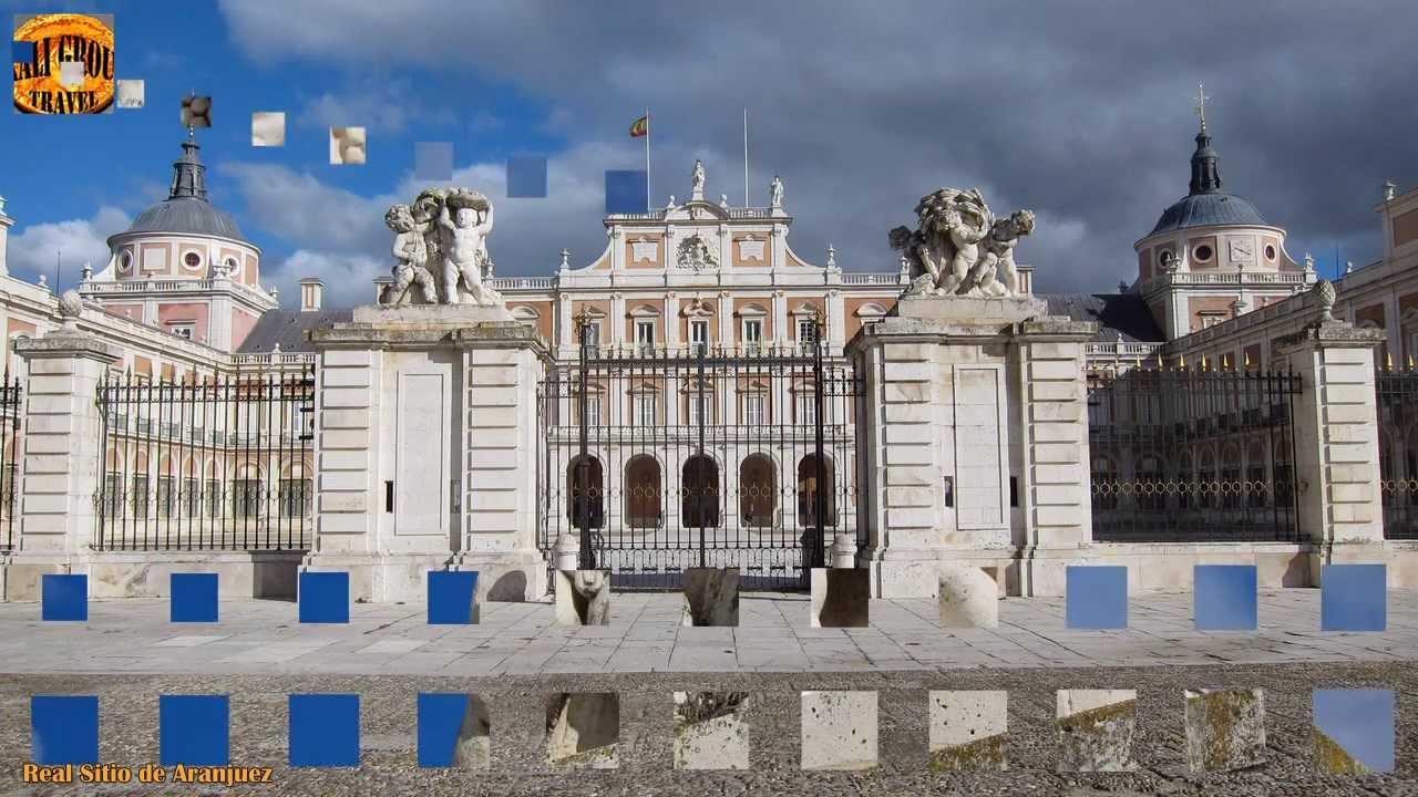 Real sitio de aranjuez madrid palacio y jardines de aranjuez youtube - Jardines palacio real madrid ...