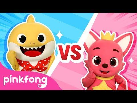 Baby Shark Challenge   Desafío Del Tiburón Bebé   Pinkfong Vs Tiburón Bebé   Pinkfong