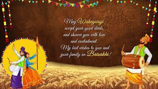 Happy Baisakhi Wishes 2020 Custom Baisakhi Religious Wishes & Greetings in Punjabi